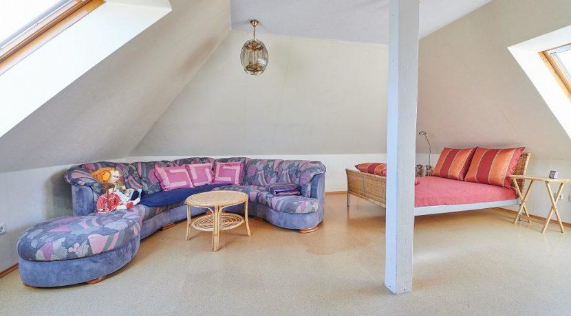 Schlafzimmer im DG II